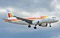 EC-KOY A319-111 Iberia (6272449933).jpg