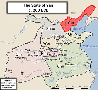 ancient Chinese state during Zhao dynasty