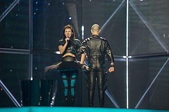 Lithuania in the Eurovision Song Contest 2014 - Vilija Matačiūnaitė at the second semi-final dress rehearsal