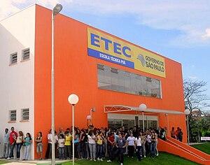 Poá - ETEC Technical School of Poá.