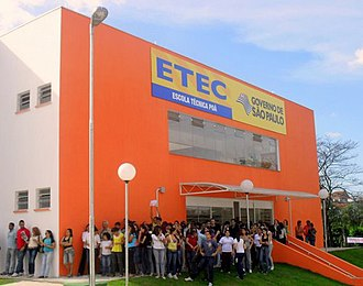 Poá - ETEC Technical School of Poá.