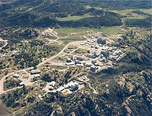 Energy Technology Engineering Center - Aerial view of ETEC in 1988.