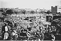 "EXCAVATION OF THE Y.M.C.A. GYMNASIUM PIT IN JERUSALEM. תחילת החפירות לבניית יסודות מבנה ימק""א בירושלים..jpg"