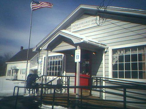 East Barre mailbbox