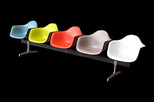Eames Fiberglass Armchair - Image: Eames chair IMG 4611
