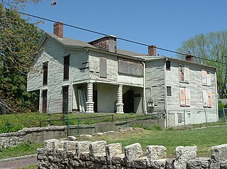 Portland, Louisville - Completed in 1812, the Squire Earick House is the oldest known wood framed structure in Louisville