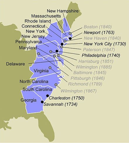History Of The Jews In The United States Wikiwand