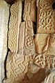 Early medieval stonework, All Saints Church, Bakewell.jpg