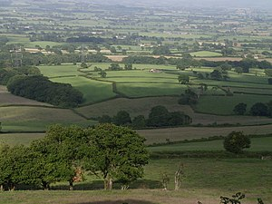 Marshwood Vale - Image: East from Coney's Castle geograph.org.uk 472465