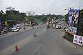Eastern Metropolitan Bypass & Canal South Road Junction - Chingrighata Flyover - Kolkata 2012-01-19 8390.JPG