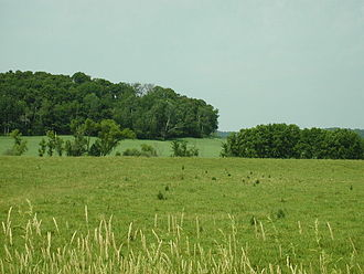 Eau Claire County, Wisconsin - Fields in Eau Claire County
