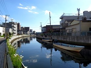Ebi River - A section of the Ebi River