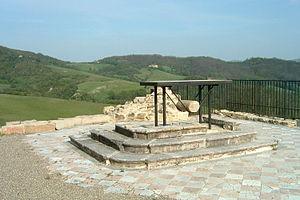 Marzabotto massacre - Remains of the church of San Martino di Monte Sole