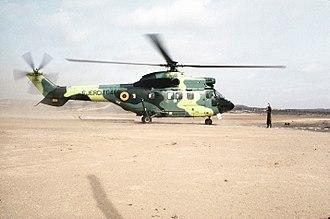 Eurocopter AS532 Cougar - An Ecuadorian AS532 Cougar