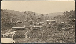 Mining in Papua New Guinea - Edie Creek, Central New Guinea, 1936.
