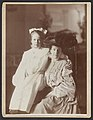 Edith Kermit Carow Roosevelt, seated, three-quarter length, facing right, and Ethel Roosevelt with arm around her shoulders LCCN89707315.jpg