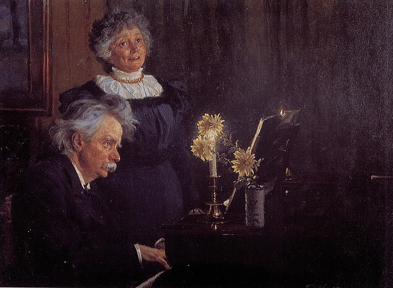 File:Edvard Grieg accompanying his Wife.jpg