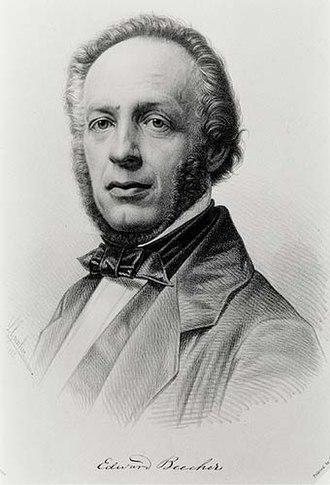 Edward Beecher - Image: Edward Beecher