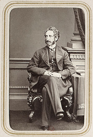 Edward Bulwer-Lytton - Bulwer-Lytton in later life