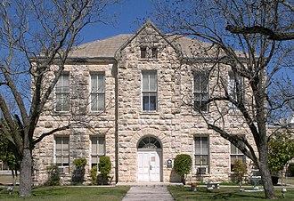Edwards County, Texas - Image: Edwards county tx courthouse