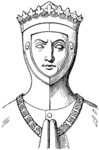 Thomas of Lancaster, 1st Duke of Clarence - Drawing of his tomb effigy