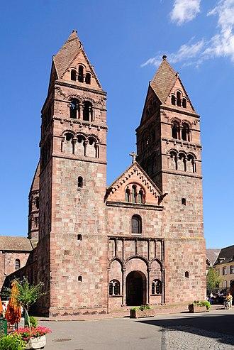Route Romane d'Alsace - Sélestat