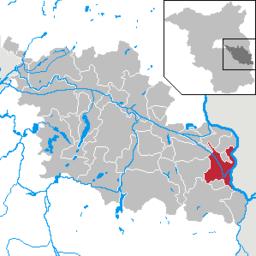 Eisenhüttenstadt i Landkreis Oder-Spree (Brandenburg)