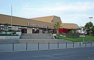 Eissporthalle Frankfurt architectural structure