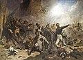 El Dos de Maig. Defensa del Parque de Artilleria de Monteleón, en Madrid, el día Dos de Mayo de 1808..JPG