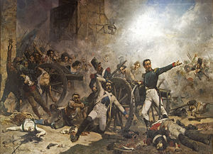 Peninsular War - Second of May 1808: the defenders of Monteleón make their last stand