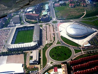Campos de Sport de El Sardinero - Image: El Sardinero Palacio de Deportes