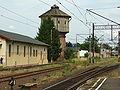 Elbląg, nádraží, vodárenská věž.JPG