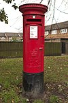 Elizabeth II Postbox, Town Street, Beeston (geograph 5577341).jpg