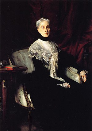 William Crowninshield Endicott - Ellen Peabody Endicott (Mrs. William Crowninshield Endicott), John Singer Sargent, 1901