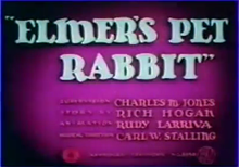 Description de l'image Elmer's Pet Rabbit title card.png.