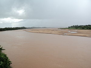 West Godavari district - River Tammileru near Eluru