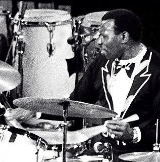 Elvin Jones American jazz drummer