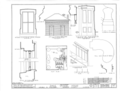 Emelie Grosse House, Columbia, Monroe County, IL HABS ILL,67-COLUM,1- (sheet 3 of 13).png