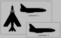 English Electric Lightning F.2 and F.3 two-view silhouette.png