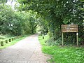 Entrance to Lee Valley Park - geograph.org.uk - 1444144.jpg