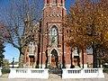 Entrance to St. Michael's Catholic Church, Fort Loramie.jpg