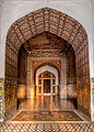 Entrance to the grave of King Jahangir.jpg
