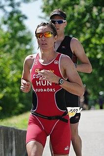 Erika Csomor Hungarian triathlete and duathlete