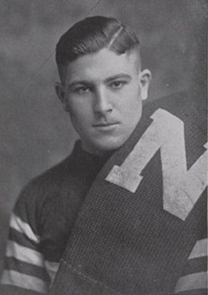 1918 Nebraska Cornhuskers football team - Ernest Hubka from 1919 Cornhusker