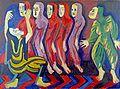 Ernst Ludwig Kirchner, Totentanz der Mary Wigman, 1926-8.jpg