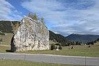 Erratischer Dolomit-Block Cionstoan Seiseralm 2017 Raschötz.jpg