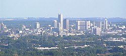 Skyline of Essen