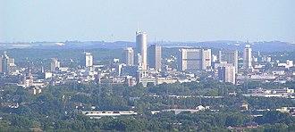 Essen - Skyline of Essen