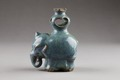 Essenshållare. Guangzhou (Kanton) stengods, 1800-tal - Hallwylska museet - 96224.tif