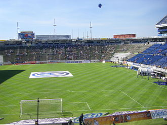 Football at the 1968 Summer Olympics - Image: Estadio Cuauhtémoc Innenansicht
